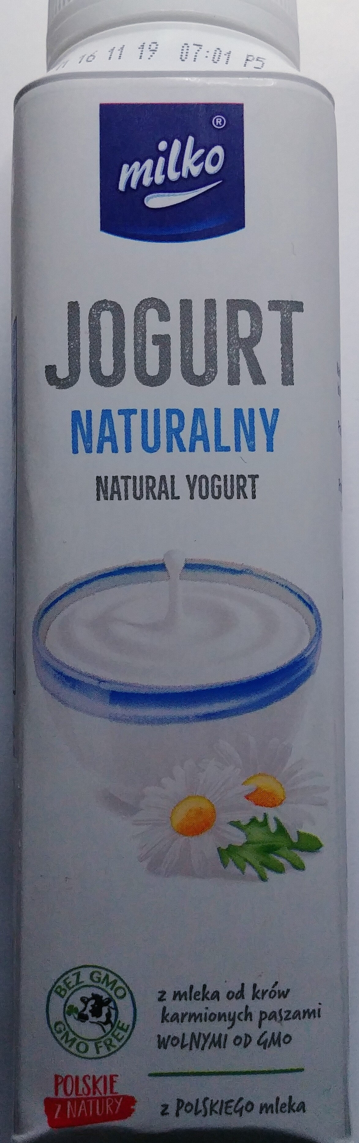 Jogurt naturalny - Produkt