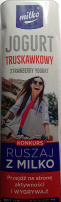 Jogurt pitny truskawkowy - Product - pl