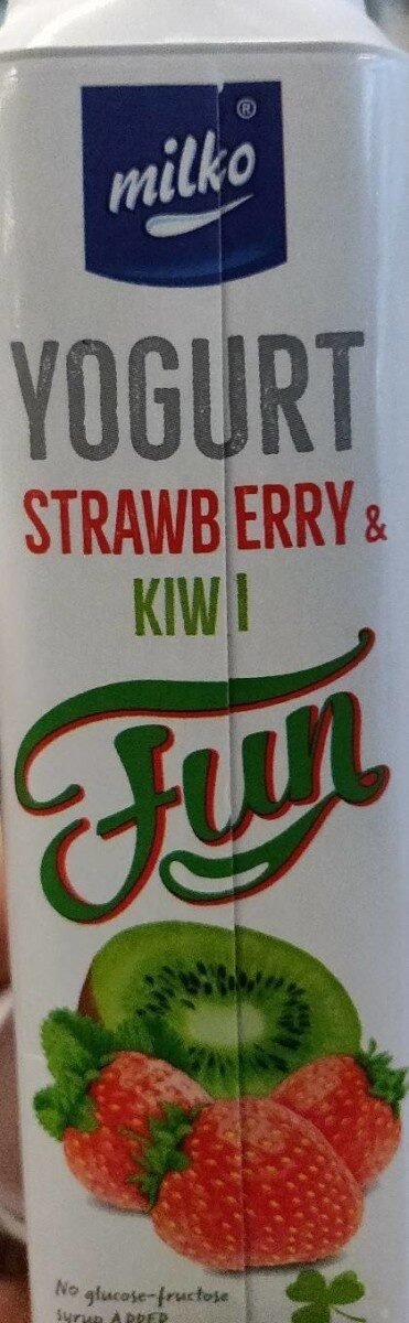 Strawberry & Kiwi Yogurt - Produit