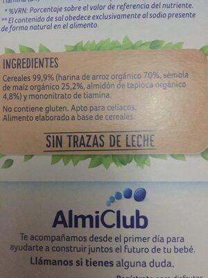 Almirón leche de continuación - Ingrédients - es