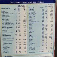 Almiron 2 - Informations nutritionnelles - es