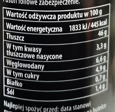 CZOSNKOWY - Nutrition facts - pl