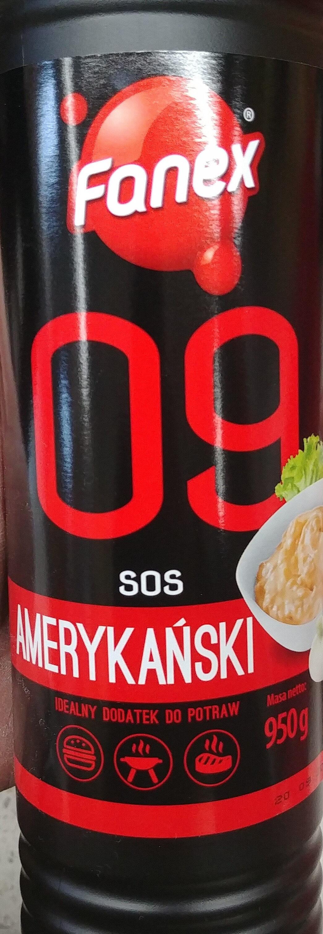 Sos amerykański - Produkt - pl
