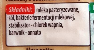 Radamer wędzony - Ingredients - pl