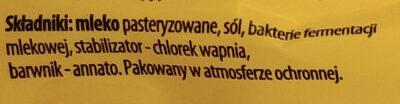 Ser żółty królewiecki szwajcar - Składniki - pl