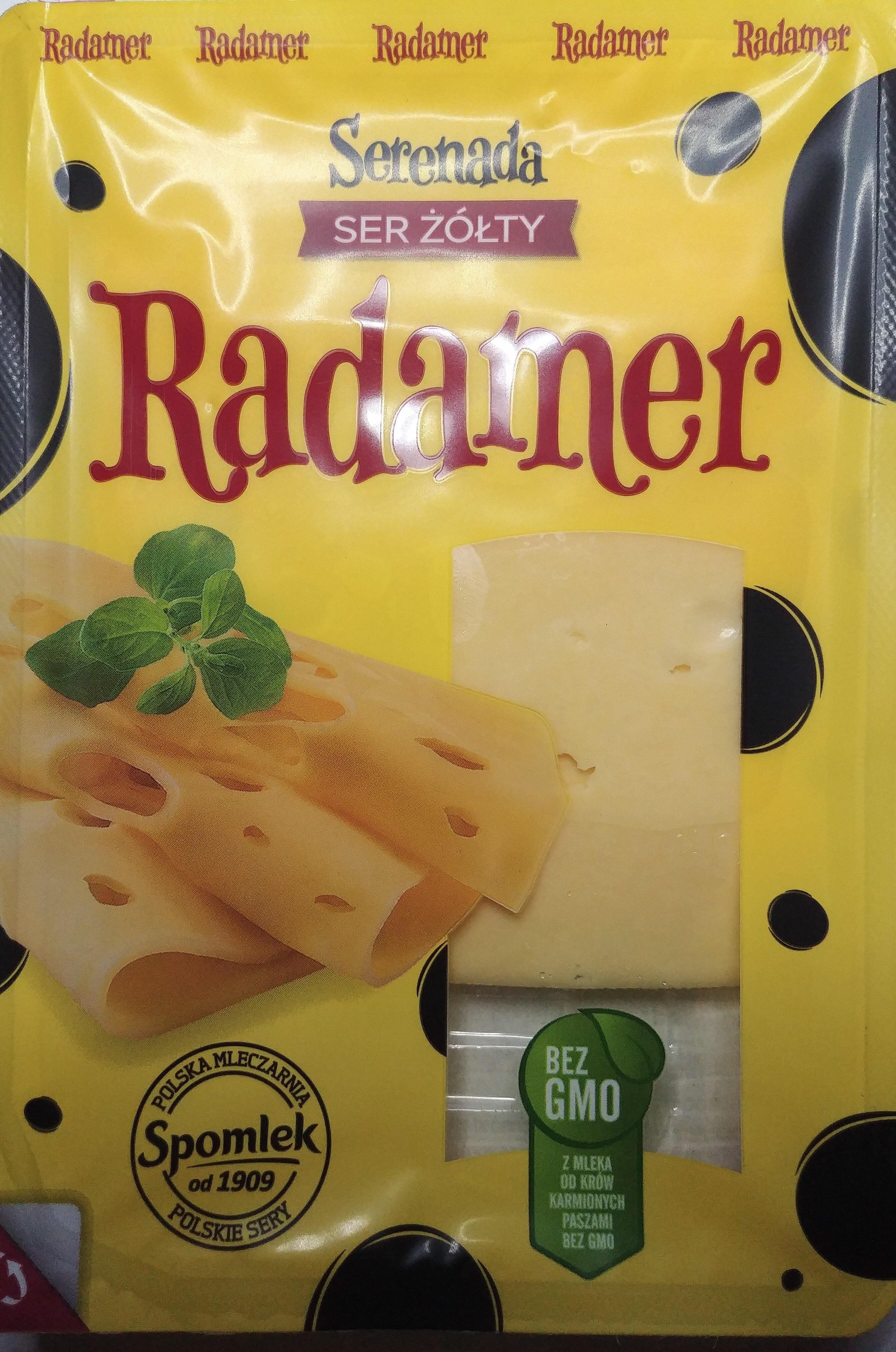Ser żółty Radamer - Product
