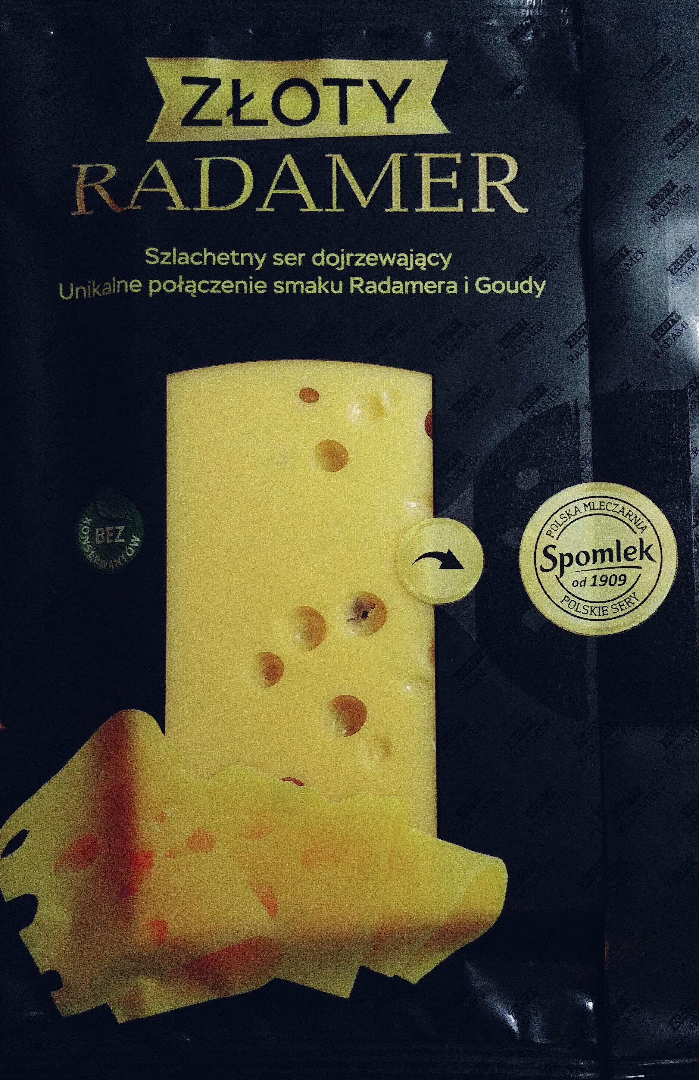 Ser dojrzewający Złoty Radamer - Produkt