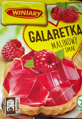 galaretka malinowa - Produkt - pl