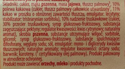 Graciella truskawkowa - Składniki - pl
