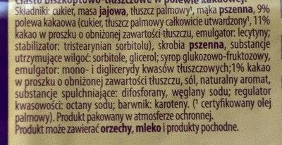 Graciella marmukowa - Składniki - pl