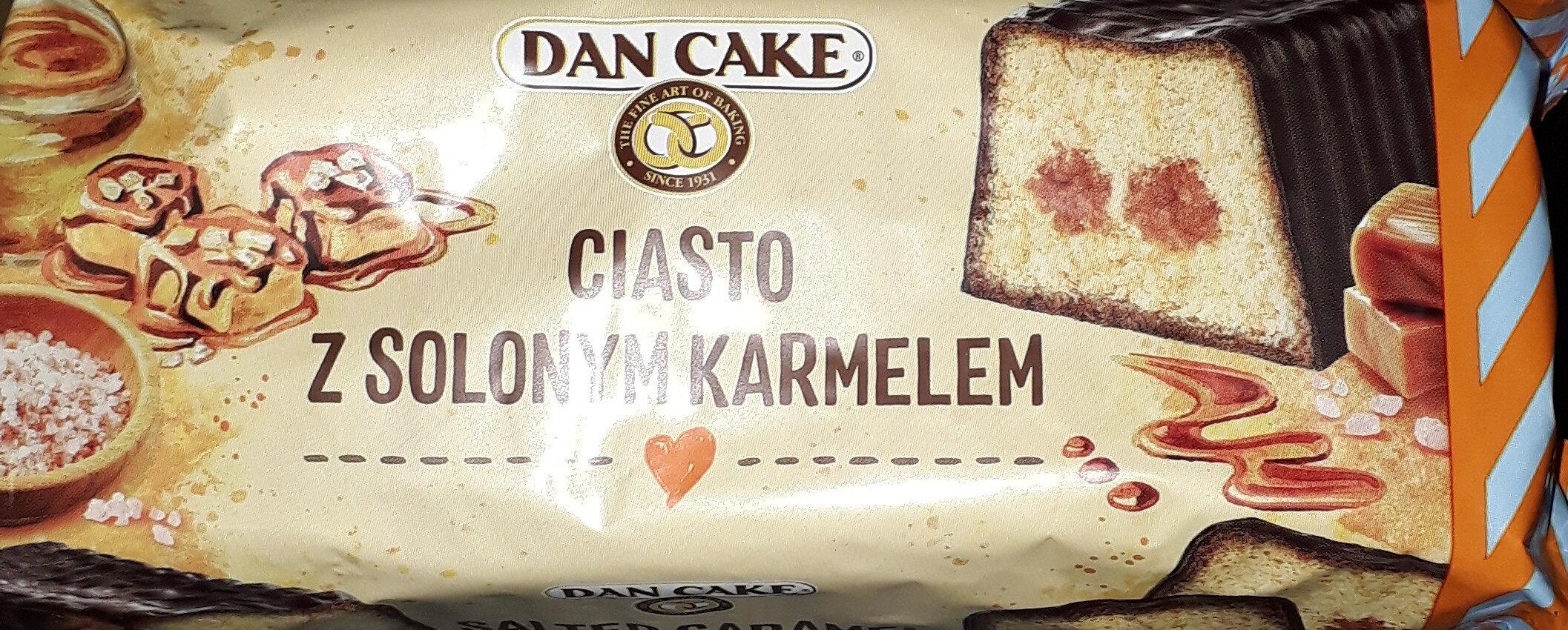 ciasto z solonym karmelem - Produkt - pl