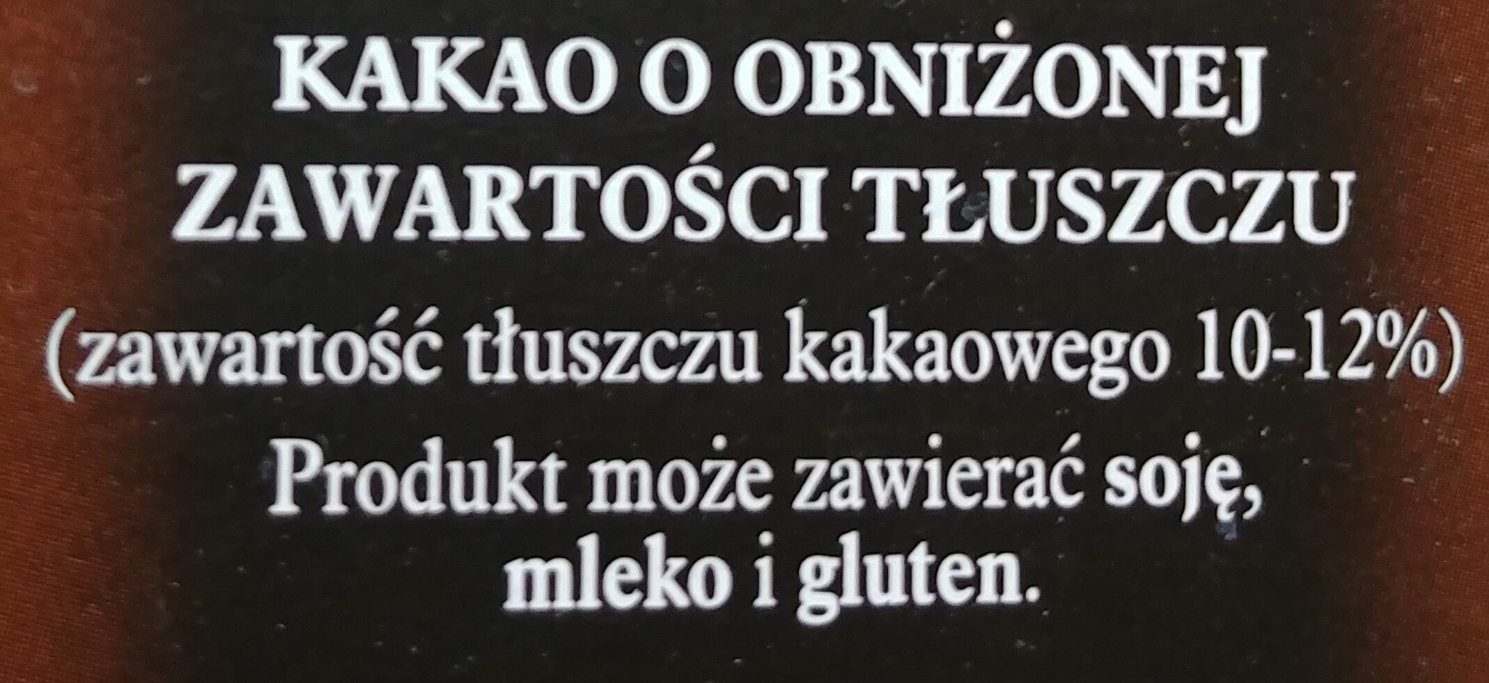 Cacao DecoMoreno - Składniki - pl