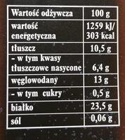 Cacao DecoMoreno - Wartości odżywcze - pl