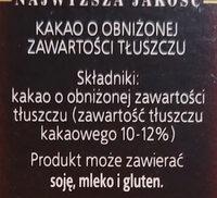 Kakao - Składniki - pl