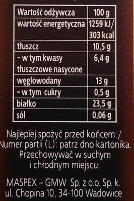 Kakao - Wartości odżywcze - pl