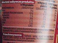 Chocofini krem o smaku czekoladowym - Nutrition facts