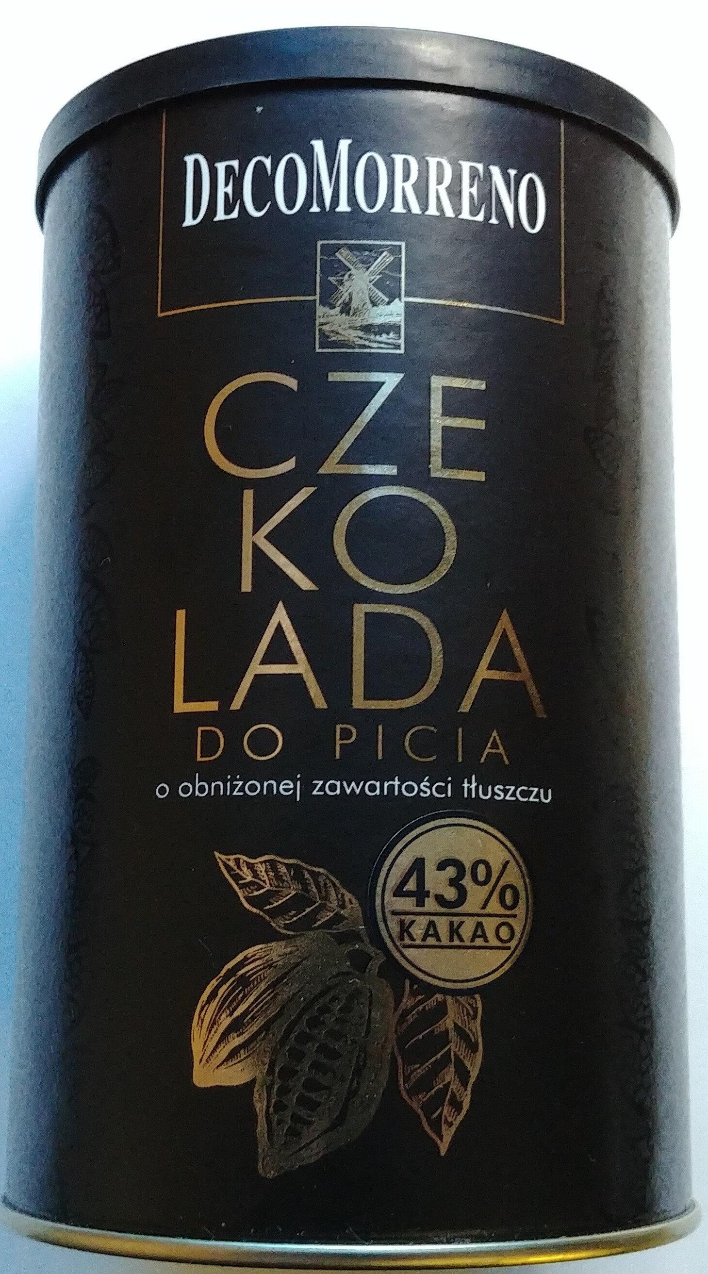 Czekolada do picia o obniżonej zawartości tłuszczu - Product - pl