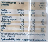 Tortilla - Wartości odżywcze - pl