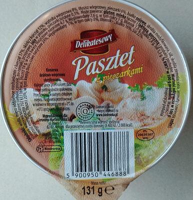 Pasztet z pieczarkami - Wartości odżywcze - pl