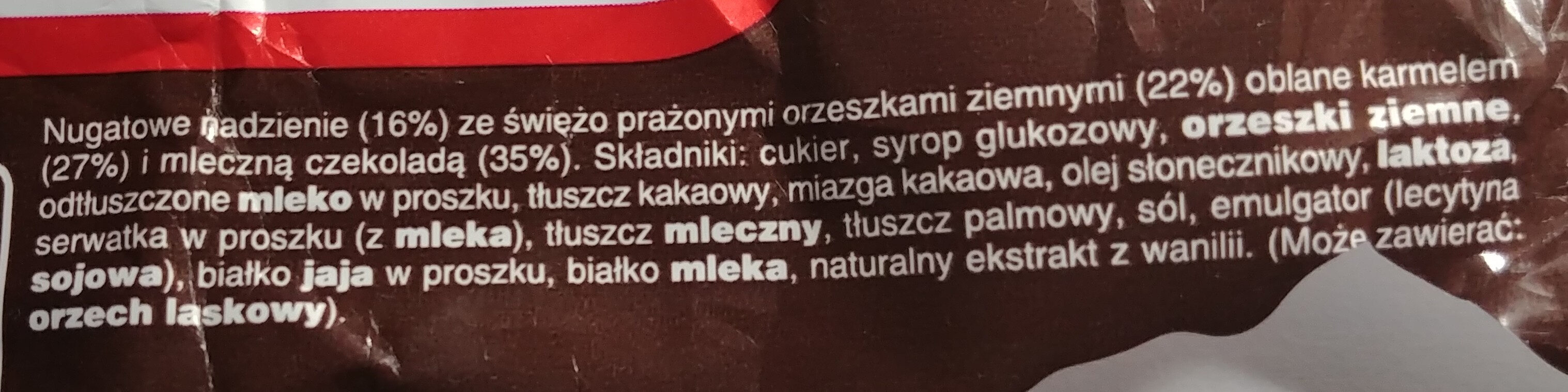 Snickers - Ingredients