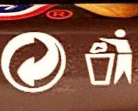 2 Snickers - Recyclinginstructies en / of verpakkingsinformatie - en