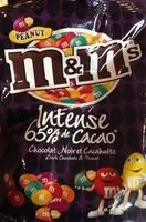 Chocolat noir et cacahuète - Product - fr