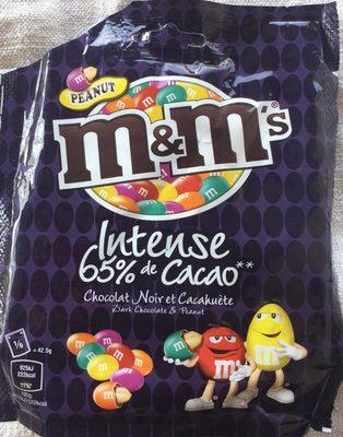 Intense 65 % Cacao, Chocolat Noir et Cacahuète - Produkt