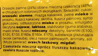 M &M Orzechowe 90G Mars - Ingrediënten - pl