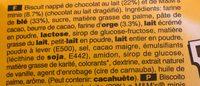 M&m's biscuit - Ingrédients - fr