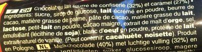 Mars - Ingredients