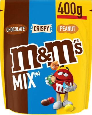 M&M's Mix Peanut, Chocolat, Crispy 400g - Product - fr