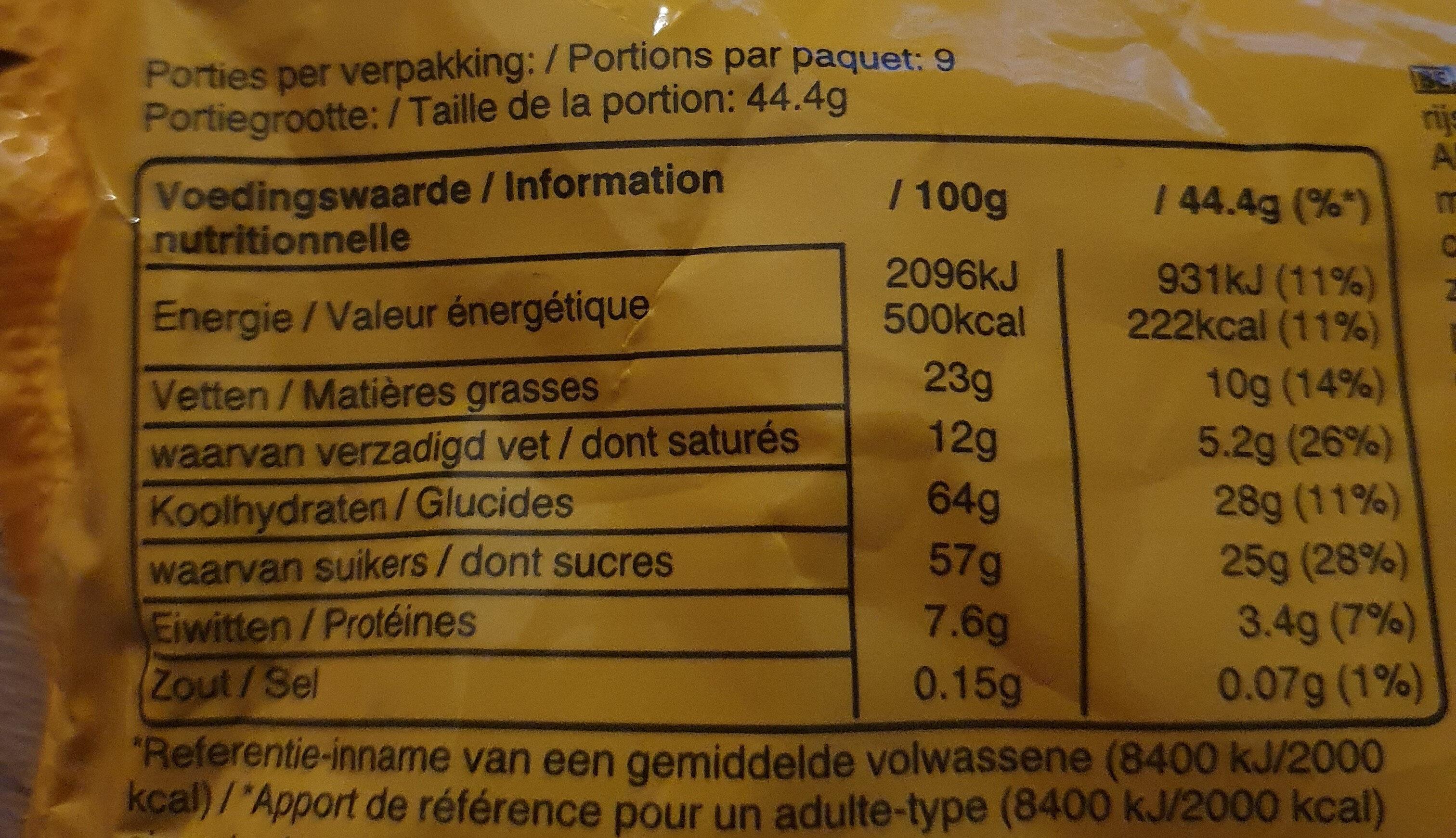 M&M'S Mix - Informations nutritionnelles - fr