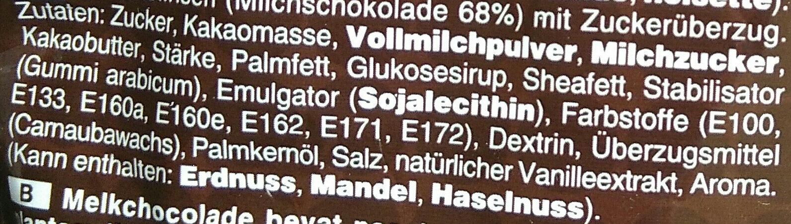 m&m's Chocolate - Ingrediënten - de