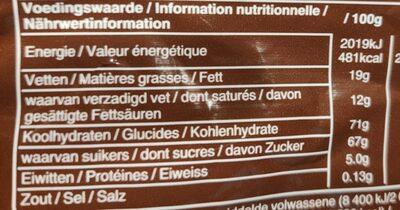 M &M'S Choco 330G - Voedingswaarden - de