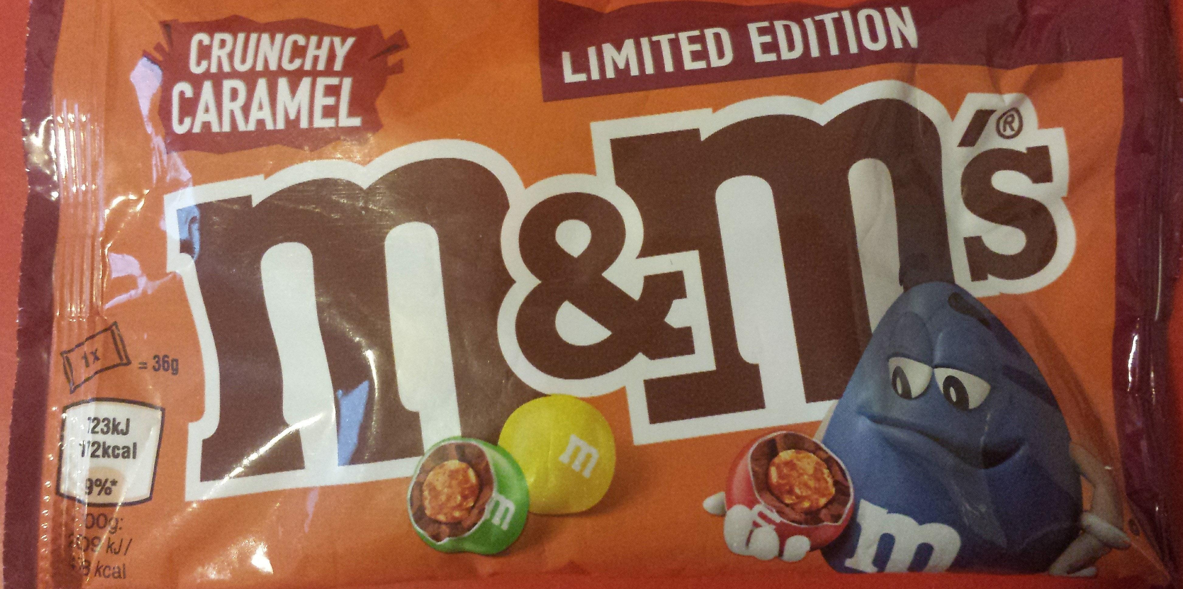 M&M's Crunchy Caramel - Product - en