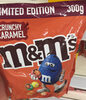 M&M's Crunchy Caramel - Product