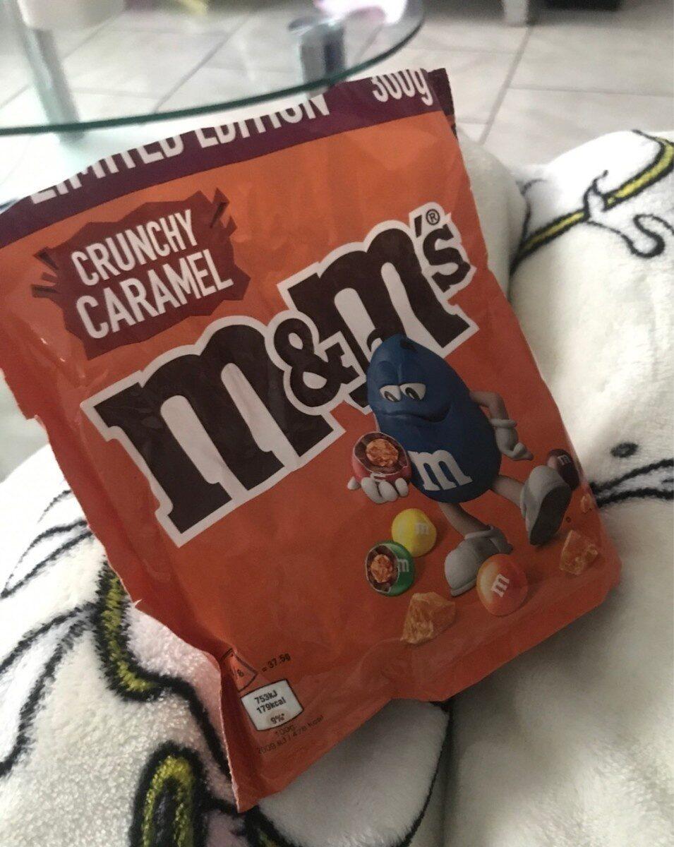 M&M's crunchy caramel - Product - de