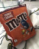 M&M's crunchy caramel - Produit - fr