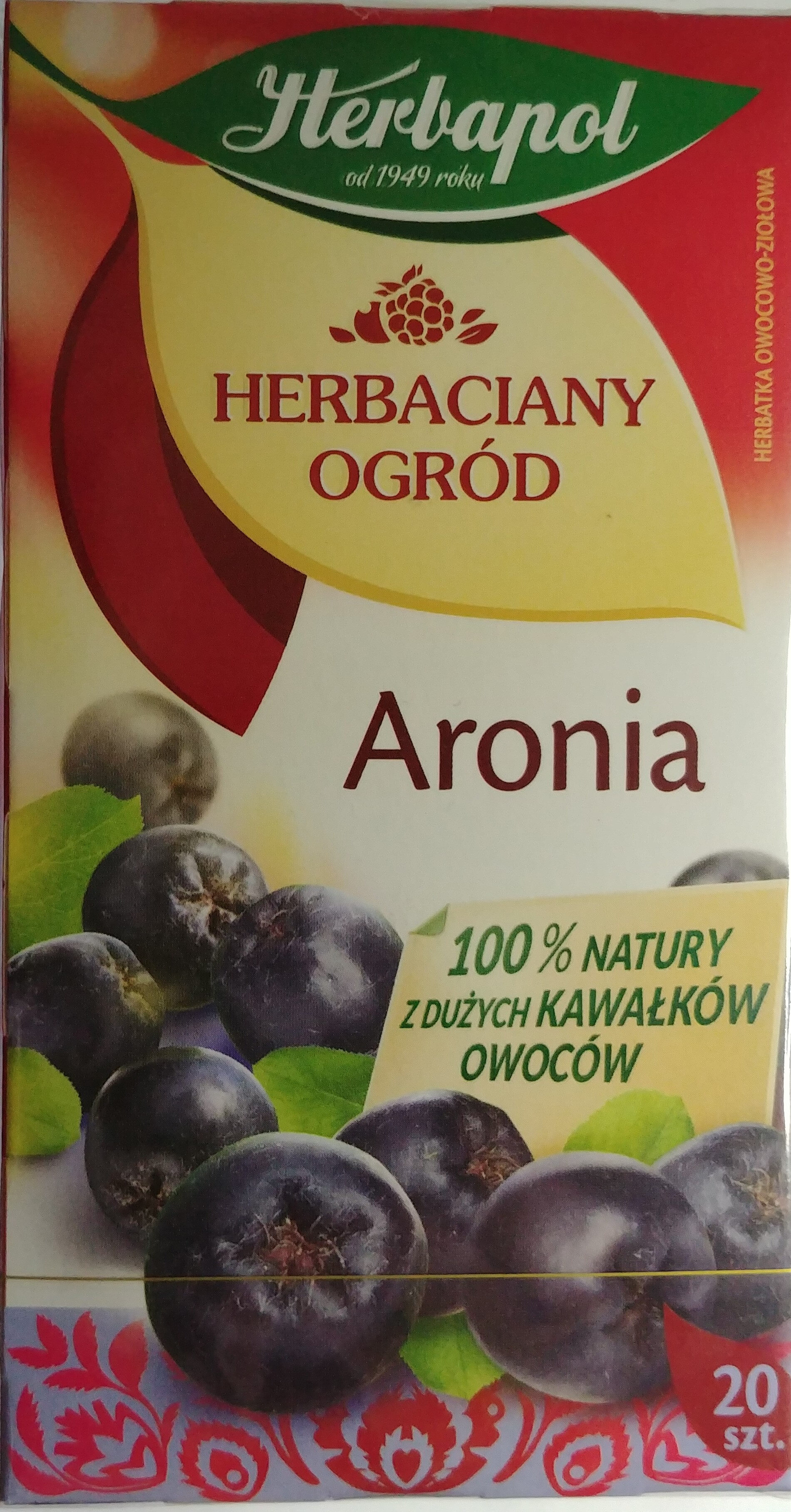 Herb. aronia Herbapol 20SZT - Produkt - pl