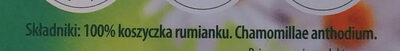 Rumianek - Ingredients - pl