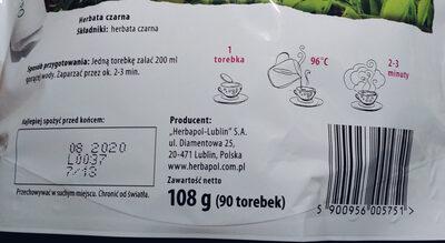Herbata czarna - Ingredients - pl
