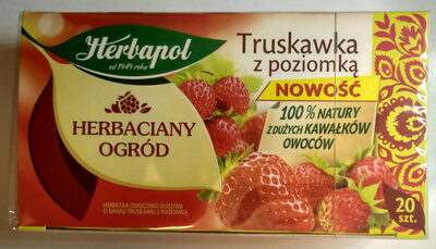 Herbata truskawka z poziomką - Produkt - pl