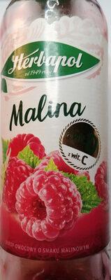 Syrop owocowy o smaku malinowym z witaminą C i D - Produkt