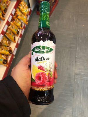 Herbapol - Malina z cytryną - Produkt