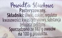 Powidła śliwkowe - Ingredients - pl