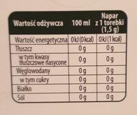 Herbata biała jaśmin - Wartości odżywcze - pl