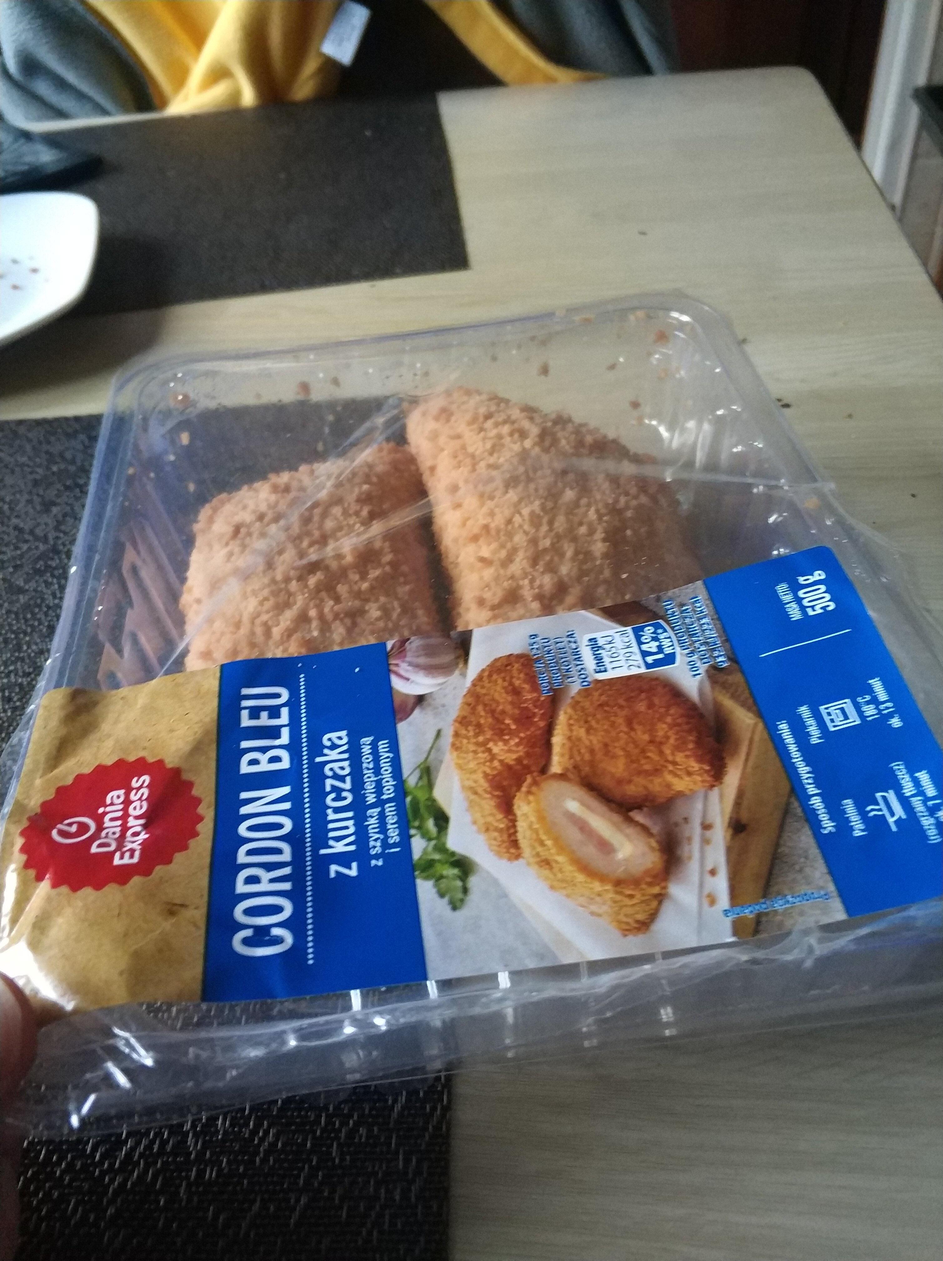 Cordon Bleu z kurczaka - Produit - en