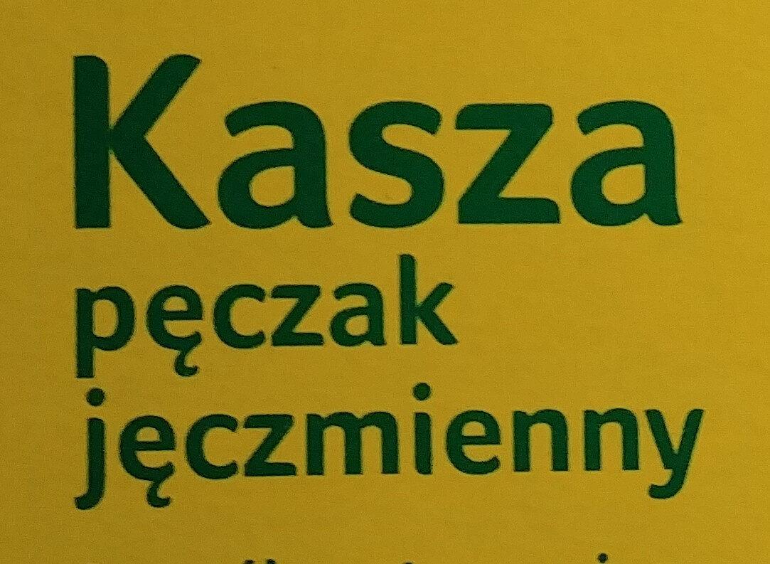 Kasza pęczak jęczmienny - Ingredients - pl