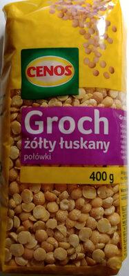 Groch żółty łuskany połówki - Produkt