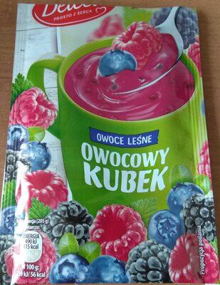 Kisiel Owocowy Kubek, owoce leśne - Product - pl